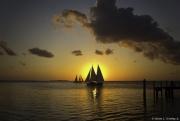 Sunset at Sunset Key